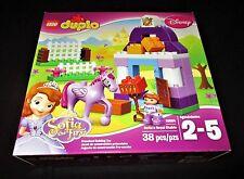 LEGO Duplo 10594 Sophia's Royal Stable Disney Sohia the First Horse & Doll New