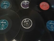 ROCK'N ROLL / POP 78 rpm X 6: The Platters, The Vipers, Buddy Morrow,  Diamonds.