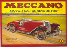 Meccano Motor Car Constructor MODERN postcard issued by Robert Opie