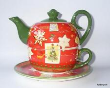"Jameson&Tailor Teekanne  0,5 L  ""Tea for one  Chrismas  5259  """