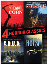 4 Horror Classics: Children of the Corn / Creepshow 2 (DVD) • NEW • Halloween