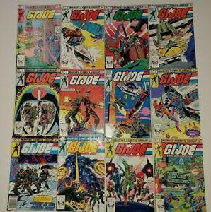 **G.I.JOE A REAL AMERICAN HERO #2-34 RUN LOT OF 33**(1982, MARVEL)**W/ #21**