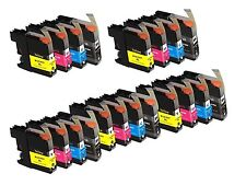 20 Pack of Brother LC-107 LC-105 for MFC-J4310 J4410 J4610 J4710DW