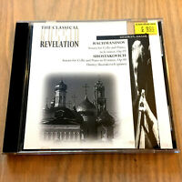Sergey Rachmaninov & Dmitry Shostakovich Sonatas For Cello And Piano (CD 1996)