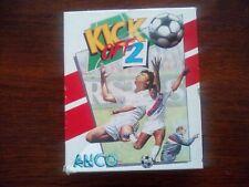 Football Amiga computer. Kick Off 2 by ANCO Inc. Winning Tactics & Final Whistle