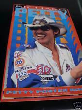 """Richard Petty The Original Poster Book 17""""X11"""" Rare '92 NASCAR Stock Car Racing"""