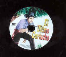 Ultimo Cartucho Western DVD Movie NO SUBTITLES Mario Fernando Almada NO CASE