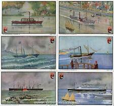 Figurine Lavazza serie n°2 La Navigazione a Vapore ANNO 1949 Chromo
