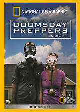 dvd National Geographic Doomsday Preppers Season 1 3 disc survival usa seller