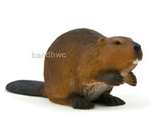 Mojo Fun 387078 Beaver - Realistic Forest Animal Model Toy Replica - NIP