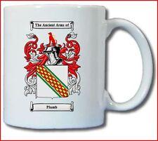 PLUMB (ENGLISH) COAT OF ARMS COFFEE MUG