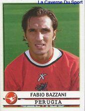 285 FABIO BAZZANI ITALIA AC.PERUGIA STICKER CALCIATORI 2002 PANINI