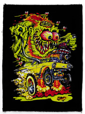 JOHNNY ACE BLK COTTON PATCH NOMAD RETRO LOWBROW HOTROD KUSTOM KULTURE RATFINK