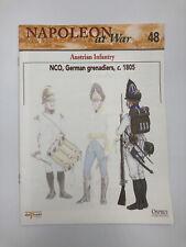Del Prado - Napoleon At War Booklet 48 - NCO, German Grenadiers, C. 1805