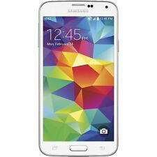 5.1 inches Samsung Galaxy S5 G900A 4G AT&T Unlocked Smartphone 16GB 16MP White