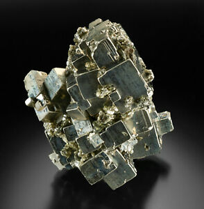 Pyrite cube cluster from Peru