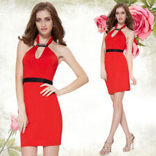 Ever-Pretty Polyester Solid Dresses for Women