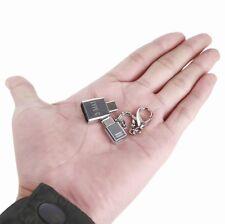 USB-C OTG Adapter 2x Metal Micro Type C Converter USB 2.0 Female to USB 3.1 Male