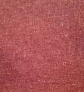 "6 metre Double Width 112"" Linen Weave Upholstery Fabric In Grape"