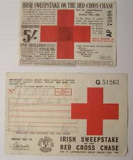 Irish Free State Hospitals Sweepstake Ticket LEOPARDSTOWN RED CROSS CHASE 1940