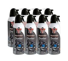 Falcon Dust-Off 10oz Professional Safety Compressed Air Duster 8-PACK