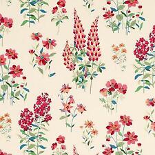 Slightly Imperfect Laura Ashley Fernshaw Cranberry Floral Washable Wallpaper