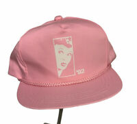 Vintage I Love Lucy 1992 Pink Snap Back Hat Very Good Condition Free US Shipping