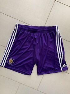 ADIDAS ORLANDO CITY MLS SHORTS MEN NWT SIZE Xl 406pa Rep Short Purple Team Pride