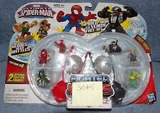 MARVEL ULTIMATE SPIDER-MAN SERIES 1 FIGHTER PODS SPIDER-MAN VS VENOM FACE OFF #5