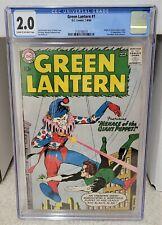 Green Lantern #1 (1960) CGC 2.0 - 1st Appearance of Guardians DC Comics Key