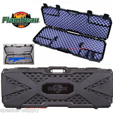 Flambeau Tactical Hard Padded Rifle Gun Case Safe Shot Lockable AK47 AR-15 6500A