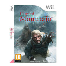 Nintendo Wii PAL version Cursed Mountain