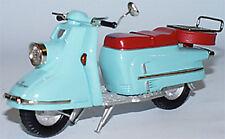 Heinkel Tourist 103A Roller türkis 1960-1965 1/18 Weissmetall u. Resin Modell