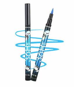 Yanqina 36H BLUE Waterproof Pen Liquid Eyeliner Eye Liner Pencil MakeUp Beauty