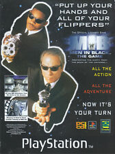 "Men In Black The Game ""Playstation"" 1998 Magazine Advert #4442"