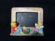 """1991 The Berenstain Bears 3.5"""" x 5"""" Picture Frame By A Princess House Exclusive"""