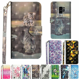 For Nokia 1.3/5.3/2.4/3.4/5.4 Patterned Magnetic Flip Leather Wallet Case Cover