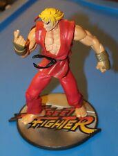 "STREET FIGHTER  8"" KEN  Player 1 RED 1999 RESAURUS"