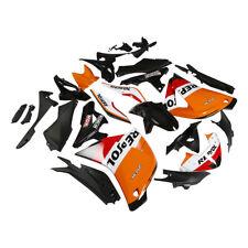 Orange Repsol ABS Fairing Bodywork For HONDA CBR250RR CBR 250 RR 2011-2013 4A
