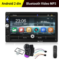 "2 DIN 7"" HD Stereo Radio WINCE MP5 Player Bluetooth Touch Screen For Car Truck"