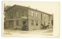 RPPC Walsh Mattress Factory WILLIAMSPORT PA Lycoming County Real Photo Postcard
