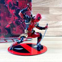 """Deadpool Kotobukiya Marvel Now! """"Marvel Comics"""" Artfx Statue Figure Toy"""