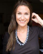 Trade Bead Necklace, Millifiori, Venetian/Afican/Batavian, 25 Beads