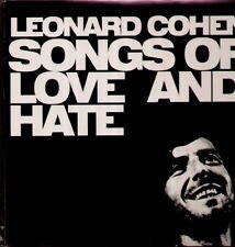 Cohen Leonard - Simply Vinyl, Songs Of Love And Hate, 2002 RI LP