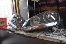 VW GOLF 5 MK5 V 2003-2008 FARI ANTERIORI LOOK GTI + KIT ANABBAGLIANTI LED H7 .-