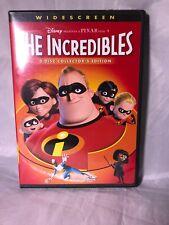 The Incredibles (2 Dvd set, 2006) Disney Pixar Children's Widescreen