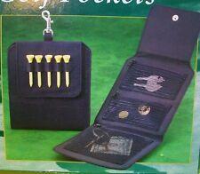 PERFECT SOLUTIONS Golf Bag Pockets Pouch Scorecard Money Keys Ball Markers +