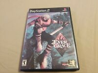 Evergrace PS2 (Sony PlayStation 2, 2000) Tested Good