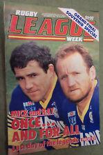 #T107. RUGBY LEAGUE WEEK MAGAZINE 24/9 1986,GRAND FINAL- PARRAMATTA & CANTERBURY
