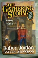 The Gathering Storm Wheel Of Time *Signed* Robert Jordan First Edition
